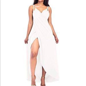 Other - White beach swimsuit bikini Coverup